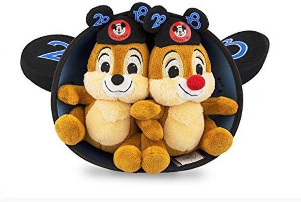 6f51946b1f67 Walt Disney World 2018 Chip and Dale Mickey Mouse Ears Hat and Plush Doll  Set