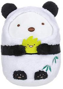 San-X Sumikko Gurashi Plush Panda Bear 5th Anniversary Limited Edition  (MX17701) 87a6c19f676a