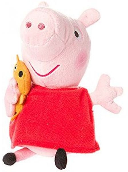 c4a156c236e Claire s accessories Ty Beanie Babies Peppa Pig Plush- 8 1 2 Small ...