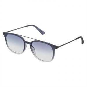 03cb91b8b77c3 Police Square Sunglasses for Men - Blue Gradient Lens