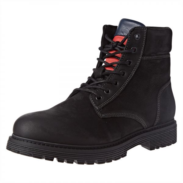 3df822a7e64 Tommy Hilfiger Iconic Tommy Jeans N Ankle Boots for Men - 45 EU, Black