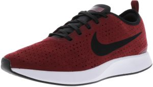 new products ad7c0 e73e0 Nike Men s Dualtone Racer Prm Team Red   Black - White Ankle-High Fashion  Sneaker 10.5M