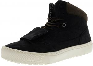 df45fafaa8 Vans Mountain Edition Waxed Suede Black High-Top Snow Sneaker - 8M   6.5M