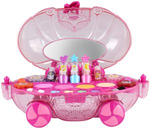 disney princess makeup chest girls all in one deluxe cosmetic and