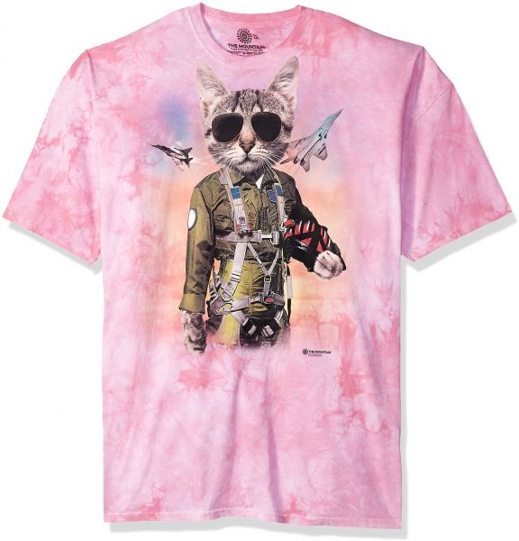 239c0017 The Mountain Tom Cat Adult T-Shirt, Pink, Small | Souq - Egypt