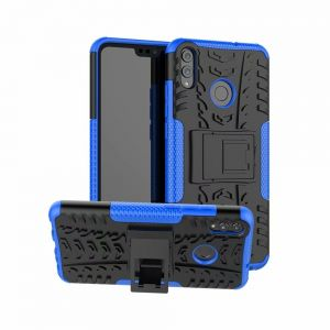 Huawei Honor 8X Case, Heavy Duty Hybrid Armor Rugged Kickstand Shockproof Back Cover