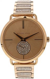 f2582a8ffd98 Michael Kors Women s Portia MK3853 Rose-Gold Stainless-Steel Swiss Parts Quartz  Fashion Watch