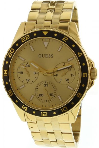 f51cdac3fd44 Guess Women s Odessa U1187L1 Gold Stainless-Steel Japanese Quartz ...