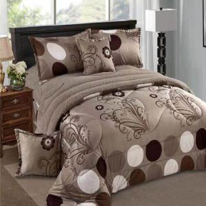 Ming Li Winter Fur Comforter Set King Size 6 Pcs Yhygr 09 Ksa