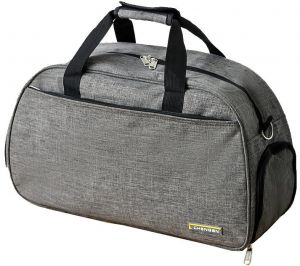 af04cbbe0a1f Waterproof Linen Duffle Bag Travel Carry on Bag Overnight Bag Weekend Bags  with Shoe Pouch for Men and Women (Grey)