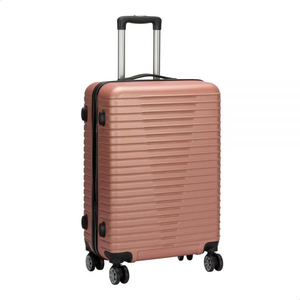 96f5b8e17 JB Luggage Trolley Bag, Size 24 - Rose Gold | Souq - Egypt