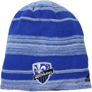 33051744750 adidas MLS Montreal Impact Men s SP17 Fan Wear Heathered Cuffless Beanie