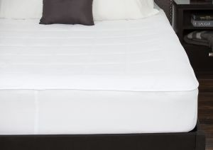 King Century Home Fashions C601-144 Century Home Signature Collection Woolmark Certified Pure Wool Fleece Mattress Pad