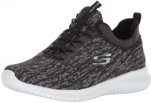 4f3bc359e57c Skechers Ultra Flex Bright Horizon Sports Sneakers for Women - Grey White