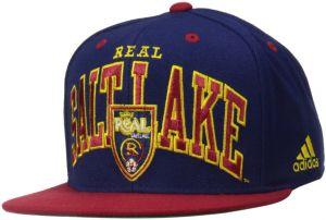 988e3652bfb adidas MLS Real Salt Lake Men s Name Two Tone Flat Brim Snapback Hat