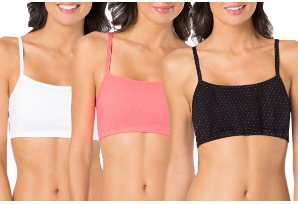 481d20727590d Fruit of the Loom Women s Cotton Pullover Sport Bra