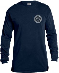Image One NCAA Penn State Nittany Lions Rounds Long Sleeve Comfort Color  Tee 34841d20a5a2