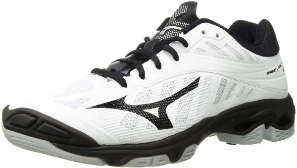 black mizuno volleyball shoes size 9 in usa