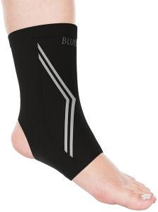 a79065be0b Bluestone Copper Infused Ankle Support Compression Sleeve- Unisex Ankle  Compress for Pain Relief, Soreness, Swelling, Recovery