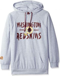 Icer Brands NFL Washington Redskins Women s Fleece Hoodie Pullover  Sweatshirt Tie Neck 990cb948b