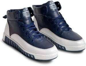 a02f83c746c Half Boot for Mens Royal Blue   White