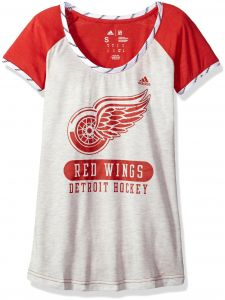 adidas NHL Detroit Red Wings Womens Skate Lace S Teeskate Lace S Tee 5fe8f4fab