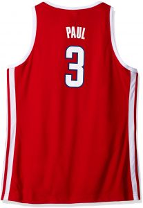 10320556d79 adidas NBA Women's Los Angeles Clippers Chris Paul Replica Player Away  Jersey, Large, Red