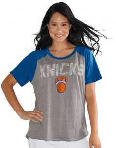 a6602616f Touch by Alyssa Milano NBA New York Knicks Conference Tee Plus