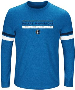 131e43ed9af NBA Dallas Mavericks Long Sleeve Screen Print Tee
