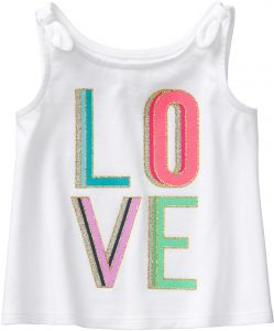 9c7d4361edcd5 Crazy 8 Toddler Girls  a-Line Knot Strap Tank Top