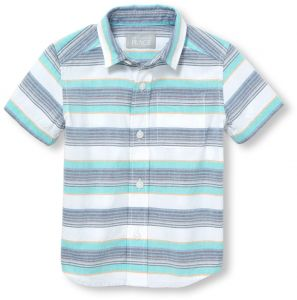 362abe2d7d The Children s Place Baby Boys Short Sleeve Woven Top