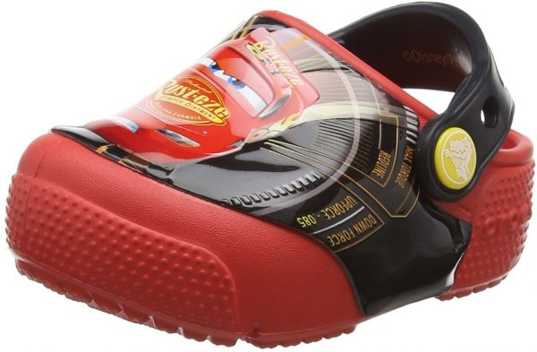 60a758a355c00 crocs Kids  Crocsfunlab Lights Cars 3 Clog