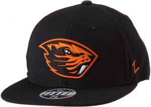 pretty nice 96117 62961 Zephyr NCAA Oregon State Beavers Men s M15 Fitted Hat, 7 3 8, Black