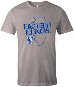060518fc Image One NCAA Eastern Illinois Panthers Adult Unisex NCAA Stenciled Short  sleeve Triblend T-Shirt,XL,AthleticGrey