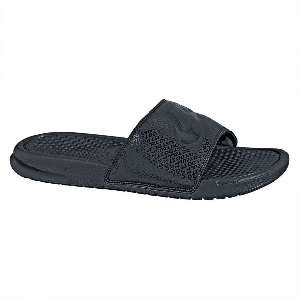 huge selection of b8686 698da Nike Benassi JDI Slide Slippers for Men - Black