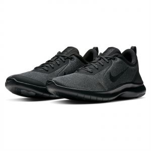 new product 288a4 b58f5 Nike Flex Experience RN 8 Running Shoes for Men - Black Dark Grey