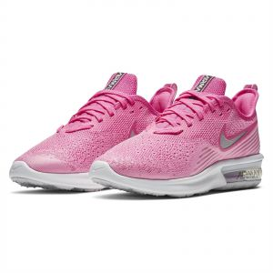 1eb83a911d55f Nike Air Max Sequent 4 Running Shoes for Women - Laser Fuchsia Metallic  Silver