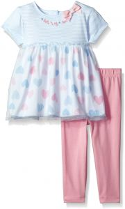 4074d2ae585 Gerber Baby Girls Tunic and Legging Set
