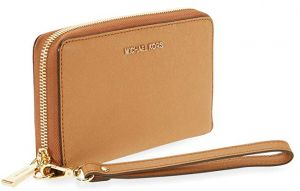 4a5c3901a30af Michael Kors Leather Zip Around Wallet for Women
