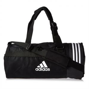 adidas 3-Stripes Small Duffel Bag for Men - Black 52705c854a8c7