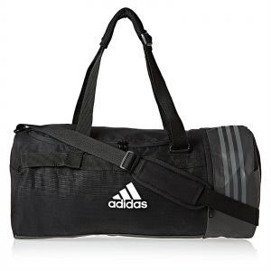 25ed6a486860 adidas 3-Stripes Medium Duffel Bag for Men - Black