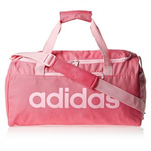 f6b98634ad adidas Linear Core Small Duffel Bag for Women - Pink