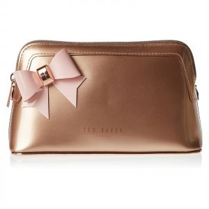 e380295efc90 Ted Baker 146573 Aubrie Bow Make-up Clutch for Women - Leather