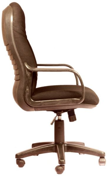 c51acbfbf HIGH BACK SIGMA SWIVEL OFFICE CHAIR IN BLACK FABRIC FROM LEADERS FURNITURE