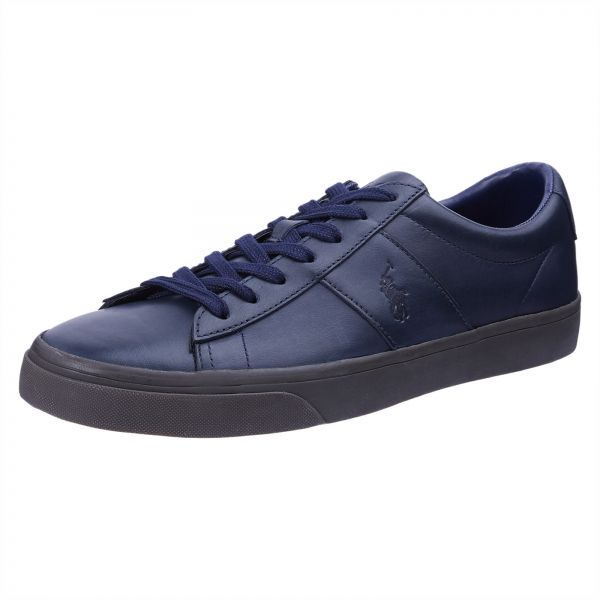 3336af59ce Polo Ralph Lauren Sayer Sneakers for Men - Bright Navy Nicotine