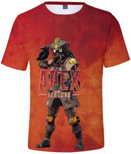 4d5173f18eb3 Apex Legends Hero Game Peripheral 3D Digital Printed Short-sleeved T-shirt  for Men and Women