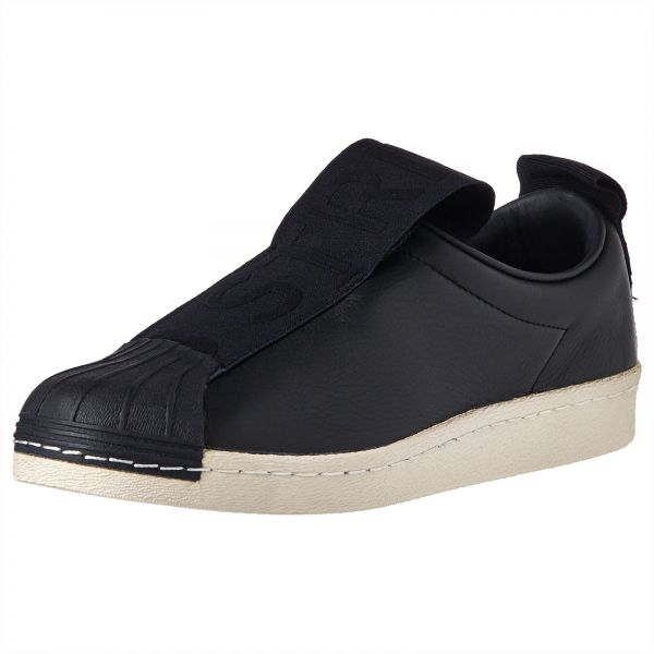 8d6a1c775 adidas Originals Superstar Slip On Sneakers for Women - Core Black Off  White