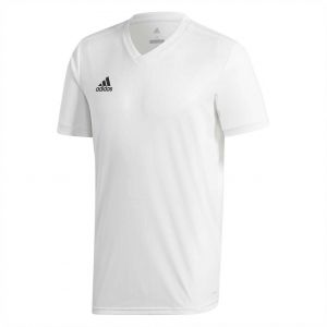 8a09bb077cc adidas Weft knitted Tabela 18 Sports Jersey for Men - White