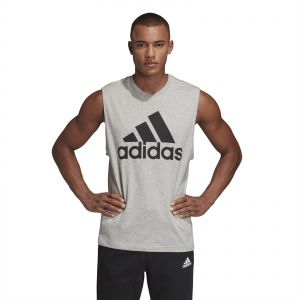 1645114e77dd5 Adidas Must Haves Badge of Sport Tank Top for Men - Black   Grey