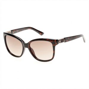 38abd9c11e8 Guess Cat Eye Sunglasses for Women - Gradient Brown Lens